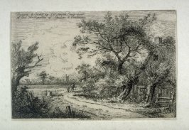 Near Edmonton, Middlesex, from Etchings of Scenes and Environs of London & English Cottages