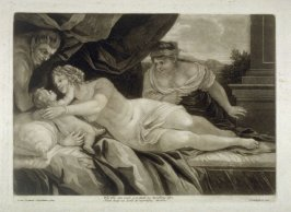 Venus with Cupid and Satyr