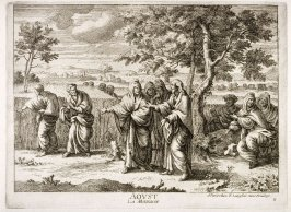 (Aoust, from) The 12 Months of the year showing 12 Scenes from the Life of Jesus