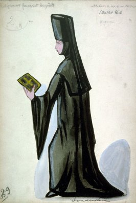 Petrouchka: one costume: mendicant nun