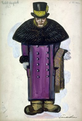 Petrouchka: one costume: footman