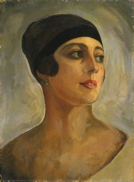 Portrait of Vera de Bosset Soudeikine (later Madame Igor Stravinsky)