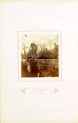 Bridal Veil Fall, 940 feet high, opposite page 31 in the book The Wonders of the Yosemite Valley and of California by Samuel Kneeland (Boston: Alexander Moore, 1871)