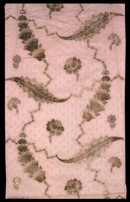 Length of silk brocade