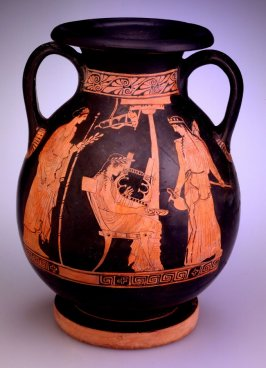 Red-figure pelike (storage jar)