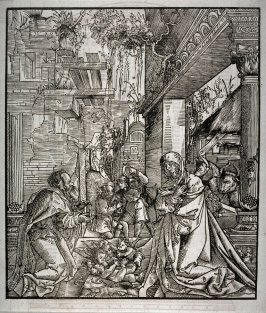 Nativity, from an undentified Bible