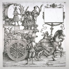 A Surrender, Block 99 of the series Triumphal Procession of Emperor Maximilian I