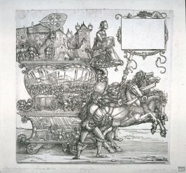 The Capture of a Town, Block 100 of the series Triumphal Procession of Emperor Maximilian I