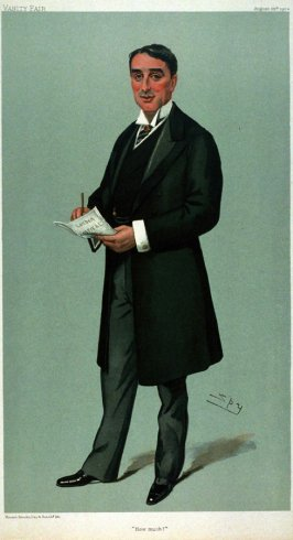 How Much (Hon. Sydney Holland) from Vanity Fair, August 25, 1904