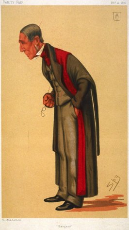 Surgery (Sir James Paget, Bart.) from Vanity Fair, February 12, 1876