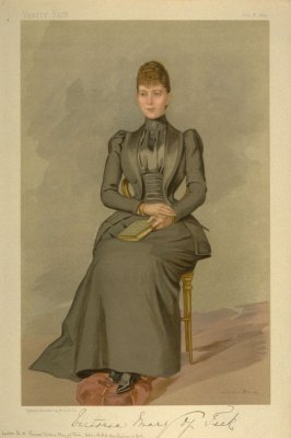 Her Serene Highness the Princess Victoria Mary of Teck, Ladies No. 12, from Vanity Fair Supplement, July 6, 1893