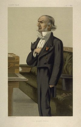 """""""The people's William"""" (The Right Honourable William Ewart Gladstone, M.P.) from Vanity Fair Supplement, July 1, 1879"""