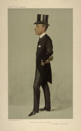 """The Princess's Private Secretary"" (Hon. Alexander Nelson Hood) from Vanity Fair Supplement"