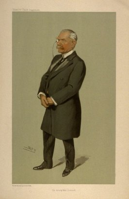 Sir Anthony Mac Donnell from Vanity Fair Supplement