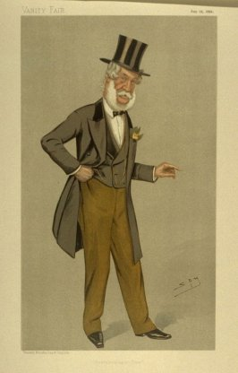 """Newcastle-upon-Tyne"" (Mr. Charles Frederick Hamond, M.P.) Statesman No. 616, from Vanity Fair, July 18, 1893"