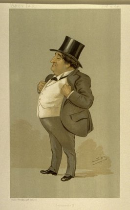 """Buonaparte B"" (Statesman, No. 621, Mr. Thomas Henry Bolton, M.P. from Vanity Fair October 12, 1893)"
