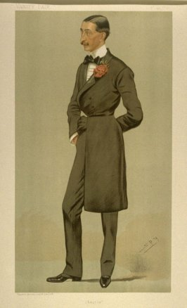 """Chester"" (Mr. Robert Armstrong Yerburgh, M.P.) Statesman No. 622, from Vanity Fair, October 19, 1893"