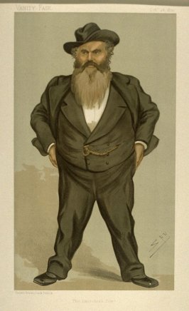 """The Gateshead Giant"" (Mr. William Allan, M.P.), Statesman No. 623, from Vanity Fair, October 26, 1893"