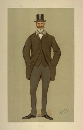 """Fred"" (The Hon. Frederic Morgan, M.P.), Statesmen No. 624 from Vanity Fair, November 2, 1893"