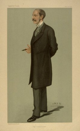 """High Commissioner"", from Vanity Fair, April 15, 1897"