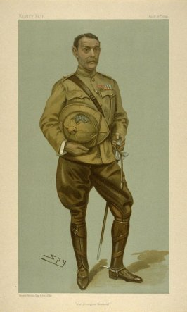 """""""our youngest General"""", from Vanity Fair, April 27, 1899"""