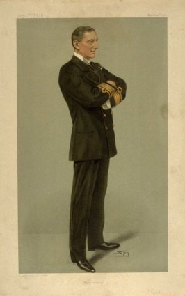 """""""Navy Control"""" (Monsieur and Madame Curie), from Vanity Fair, March 26, 1903"""