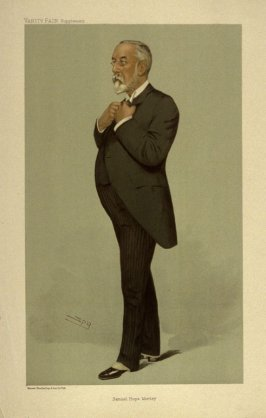 Smuel Hope Morley, from Vanity Fair Supplement