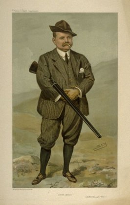 """Driven grouse"" (R.H.R. Rimington Wilson), from Vanity Fair Supplement"
