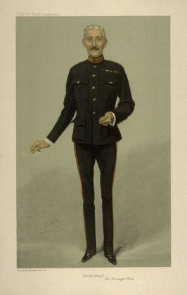 """Military Music"" (Col. Barrington Foote), from Vanity Fair Supplement"