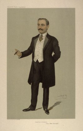"""Austria in England"" (Count Albert Mensdorff), from Vanity Fair Supplement"