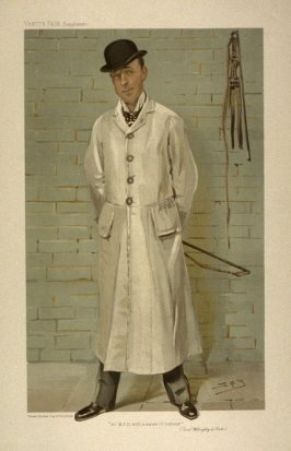 """""""An M.F.H. with a sense of humour"""" (Lord Willoughby de Broke), from Vanity Fair Supplement"""