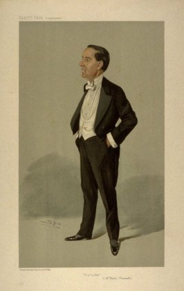 """The Duffer"" (Mr. Weedon Grossmith), from Vanity Fair Supplement"
