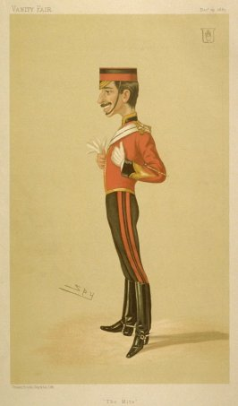 "Sir George Compton Archibald Arthur, Bart., ""The Mile"" from Vanity Fair, December 19, 1885"