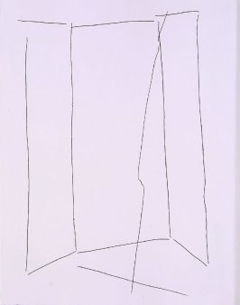 Untitled, frontispiece, abstract Illustration from the book Ballets- Minute (Paris: 1954)