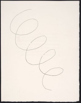 Untitled Abstract Illustration from the book Ballets- Minute (Paris: 1954)