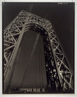 The George Washington Bridge, New York, New York