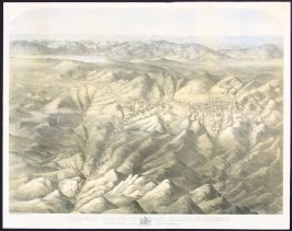 Treadwell's Bird's Eye View of the Comstock Mines and Vicinity