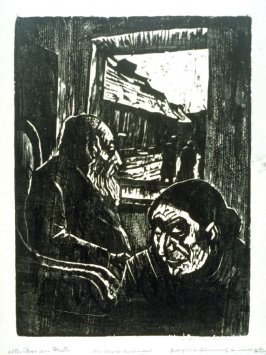 Old Couple by Window