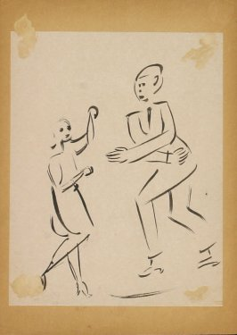 Untitled ( Two Dancing Figures)