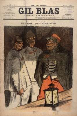 """Au Chose by G. Courteline from the Paris Daily """"Gil Blas"""" (18 June 1897)"""