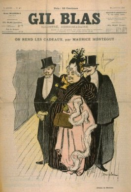 """On Rend Les Cadeaux by Maurice Montegut from the Paris Daily """"Gil Blas"""" (22 January 1897)"""