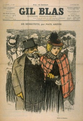 "De Senectute by Paul Arene from the Paris Daily ""Gil Blas"" (5 February 1897)"