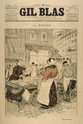 La Bagnole published in Gil Blas, 13 May 1894