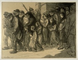 Sortie de Géoles Allemandes (The exit of German prisoners)