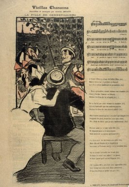 "Vielles Chansons from the Paris Daily ""Gil Blas"""