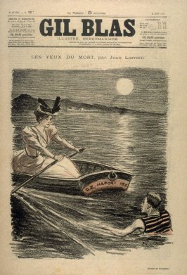 "Les Yeux du Mort by Jean Lorrain from the Paris Daily ""Gil Blas"""