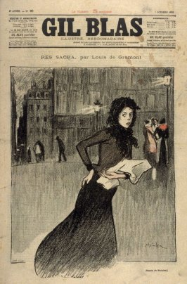 """Res Sacra by Louis de Gramont, from the Paris Daily """"Gil Blas"""""""