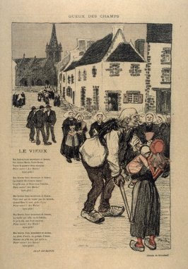 """Le Vieux... from the Paris Daily """"Gil Blas"""""""
