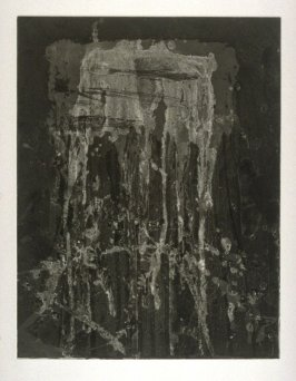 Working proof 3 for Untitled (Test Print for Long Vertical Falls Series)