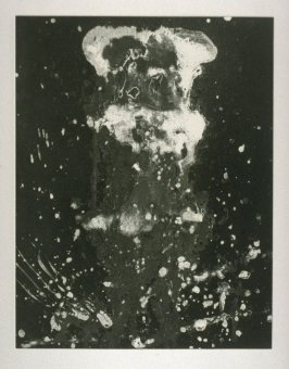 Working proof 2 for Untitled (Test Print for Long Vertical Falls Series)